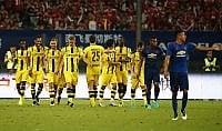 Cina amara per Mourinho lo United ne prende 4 dal Borussia