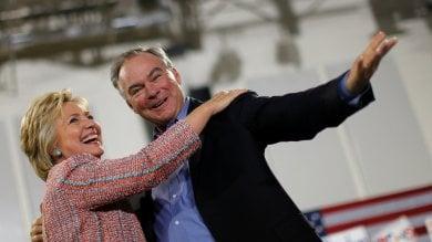 Presidenziali Usa, Clinton sceglie Kaine  come suo candidato vicepresidente