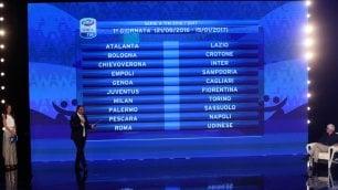 Nuova serie A, il calendario c'è subito Juventus-Fiorentina