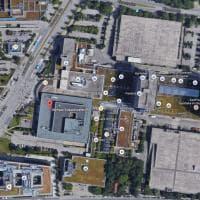 Monaco di Baviera, spari nel centro commerciale: la zona attaccata vista dall'alto