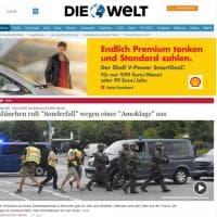 Monaco di Baviera, la notizia dell'attacco sui siti esteri