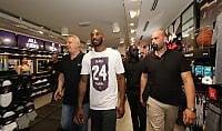 """Kobe Bryant, show a Milano """"Vi spiego come si vince"""""""