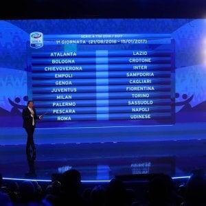 Calendario Partite Pescara.Fatto Il Calendario Partenza Dura Per La Juventus