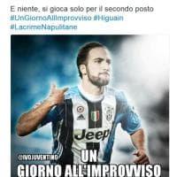 Higuain verso la Juventus, su Twitter la rabbia dei napoletani e la gioia dei bianconeri