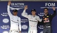 Rosberg si prende la pole Hamilton 2°, Vettel quinto