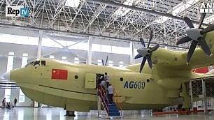 Ecco l'aereo anfibio più grande del mondo: trasporterà 50 persone