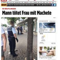 Germania, uomo armato di machete uccide una donna