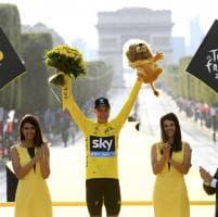 Tour de France, a Parigi terzo trionfo di Froome
