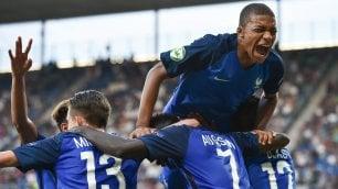 Azzurri u.19 ko   foto   l'Europeo alla Francia