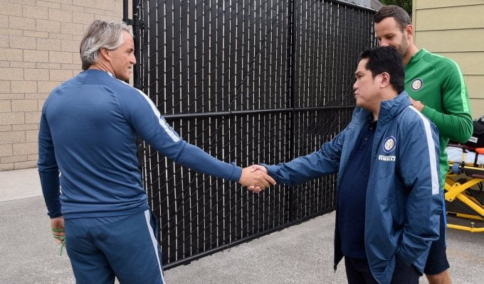 Gelo con Thohir, Mancini vicino alle dimissioni