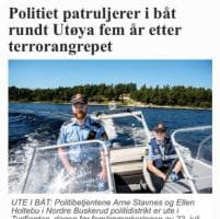 Norvegia, fotografato senza giubbotto di salvataggio: poliziotto si automulta