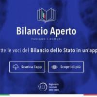 Il bilancio dello Stato in una app
