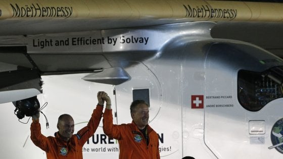 Solar Impulse 2 ha ultimato il giro del mondo