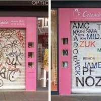 Francia, l'arte di Mathieu Tremblin: l'uomo che traduce i graffiti in scritte leggibili