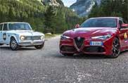 """All'Alfa Giulietta TI la """"Coppa d'Oro delle Dolomiti 2016"""""""