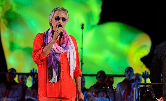 """Andrea Bocelli porta in scena """"Le Cirque"""" """"Circo e melodramma, metafore della vita"""""""