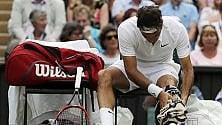 """Federer, stagione finita  """"Non andrò a Rio"""""""
