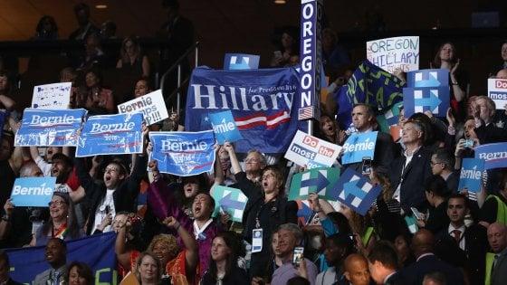 Usa, Hillary Clinton nella storia: è la prima donna candidata alla Casa Bianca
