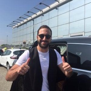 """Juventus, Higuain sbarca a Torino: """"Sono felice"""""""