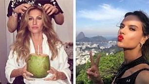 Acqua di cocco, cruditè e limone cosa mangiano le top brasiliane