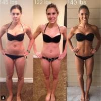 Stessi chili, un corpo diverso. L'appello della blogger: ''Non date retta alla bilancia''