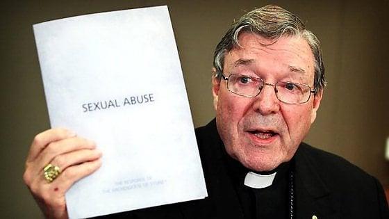 Pedofilia, il cardinale Pell indagato in Australia