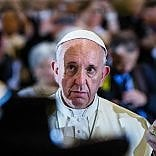 """Il Papa: """"Il mondo è in guerra ma la religione non c'entra""""   video"""