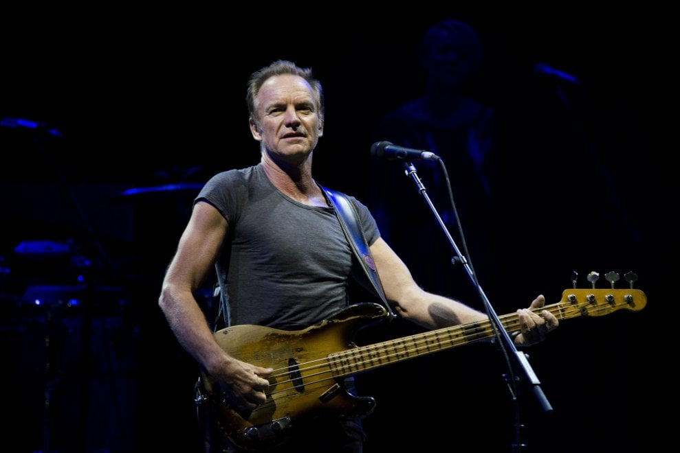 Sting apre a Roma il tour europeo