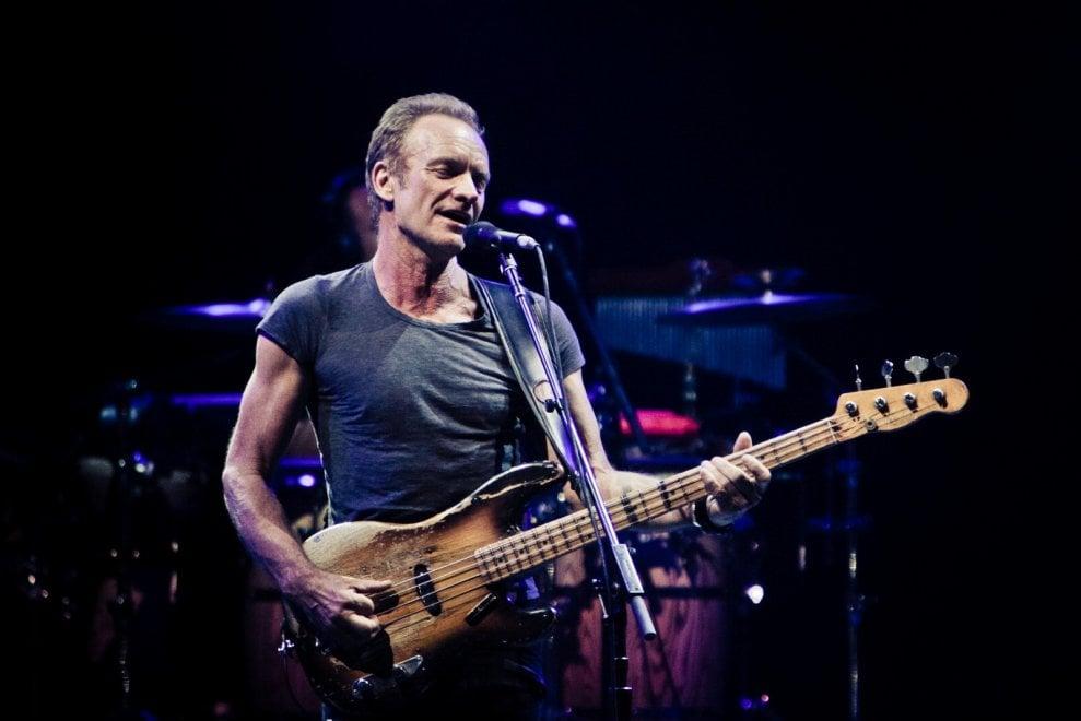 Sting, ogni respiro del rock