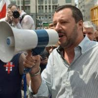 """Salvini: """"La Lega alle alleanze di Parisi non ci sta. E in FI non è chiaro chi comandi"""""""