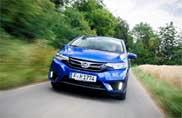 Honda automobili a gonfie vele in Europa