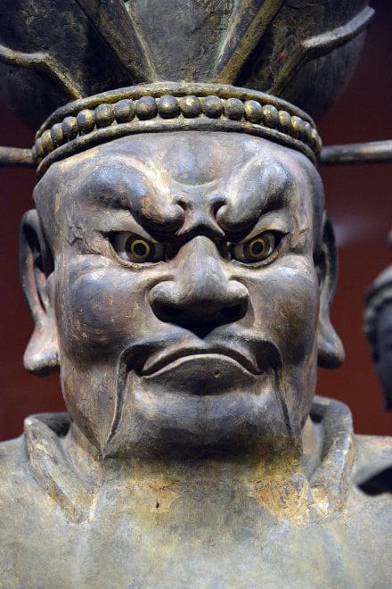 Sculture buddiste giapponesi Scuderie Quirinale