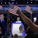 Usa, Hillary accetta la nomination: