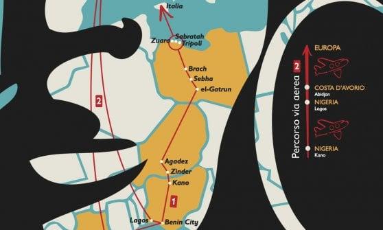 Giornata mondiale contro la tratta di esseri umani, ecco la mappa degli orrori