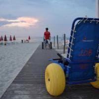 Nel Salento la prima spiaggia attrezzata per malati di Sla
