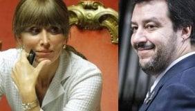 Salvini e Bernini tra profumi e balocchi