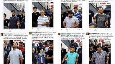 Turchia, le foto dei giornalisti arrestati dopo il fallito golpe