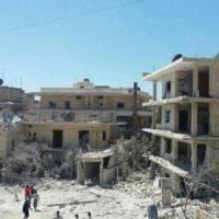 Siria,  bombardato ospedale pediatrico: due morti e feriti tra bambini e