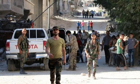 Siria,  bombardato ospedale pediatrico: due morti e feriti tra bambini e medici