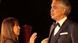 """Bocelli e Sumi Jo insieme """"Opera e circo, arti divertentI"""""""