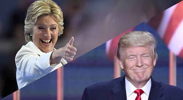 """Dall'Iowa alla nomination: così gli Usa hanno scelto i due candidati alla Casa Bianca    Clinton : """"Scriviamo un nuovo capitolo""""    video     Trump : """"Sarò la voce di chi non ne ha""""    video"""