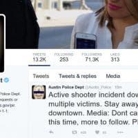 """Usa, sparatoria ad Austin (Texas). Il tweet della polizia: """"Non andate in centro"""""""