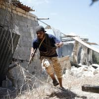 Libia, la battaglia sul campo contro l'Is a Sirte: le immagini