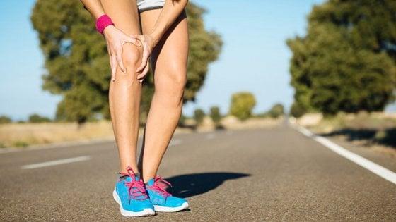 Corsa e ginocchia: artrosi, appoggio e stretching, i tre miti da ...