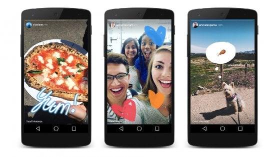 Instagram racconta ''Storie'', evoluzione stile Snapchat
