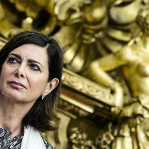 """Marcinelle, Boldrini: """"Il Parlamento appartiene ai nostri partigiani"""""""