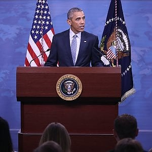 """Libia, Obama: """"Continueremo a combattere l'Is senza sosta e su tutti i fronti"""""""