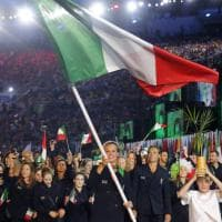 Rio 2016, sfila l'Italia al Maracanã: la portabandiera è Federica Pellegrini