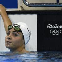 Rio 2016, prima rifugiata in gara: l'esordio olimpico di Yusra Mardini