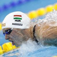 Nuoto, fenomenale Hosszu: frantuma il record del mondo dei 400 misti